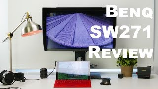 BenQ SW271 Review, a professional color work monitor