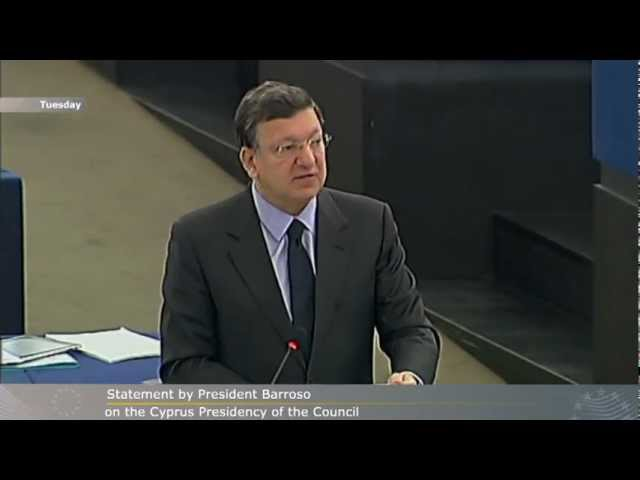 President Barroso's week 14 - 20 January 2012 in images