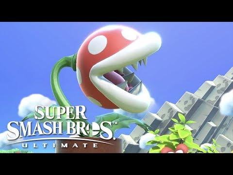 Super Smash Bros Ultimate - Piranha Plant Official Reveal Trailer thumbnail