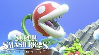 Super Smash Bros Ultimate - Piranha Plant Official Reveal Trailer