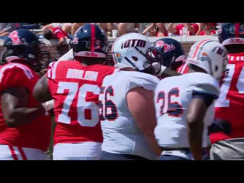 Ole Miss Football - UT Martin Highlights
