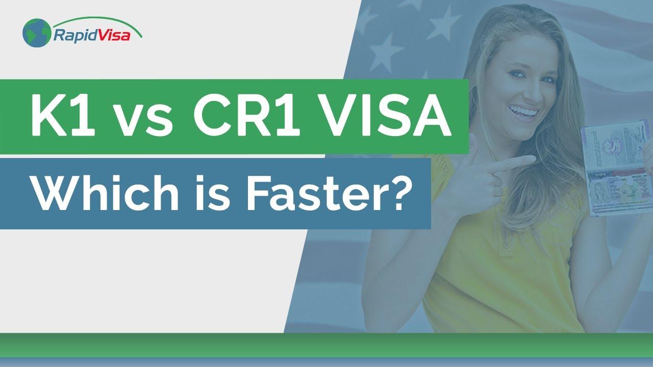 Which is Faster K1 Fiance Visa vs  CR1 Spousal Visa | RapidVisa®