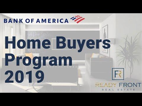 Bank Of American Home Buyers Program 2019 - DPA & Closing Cost