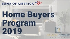 Bank Of American Home Buyers Program 2019 - DPA & Closing Cost