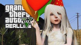 Реальная Жизнь в GTA 5 - День Рождения у Сереги!