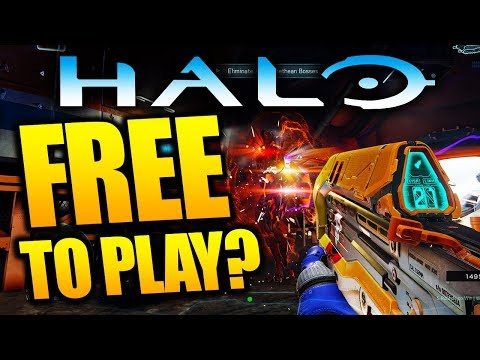 What if Halo becomes FREE TO PLAY? Xbox One / PC Free to Play Halo Game Theories
