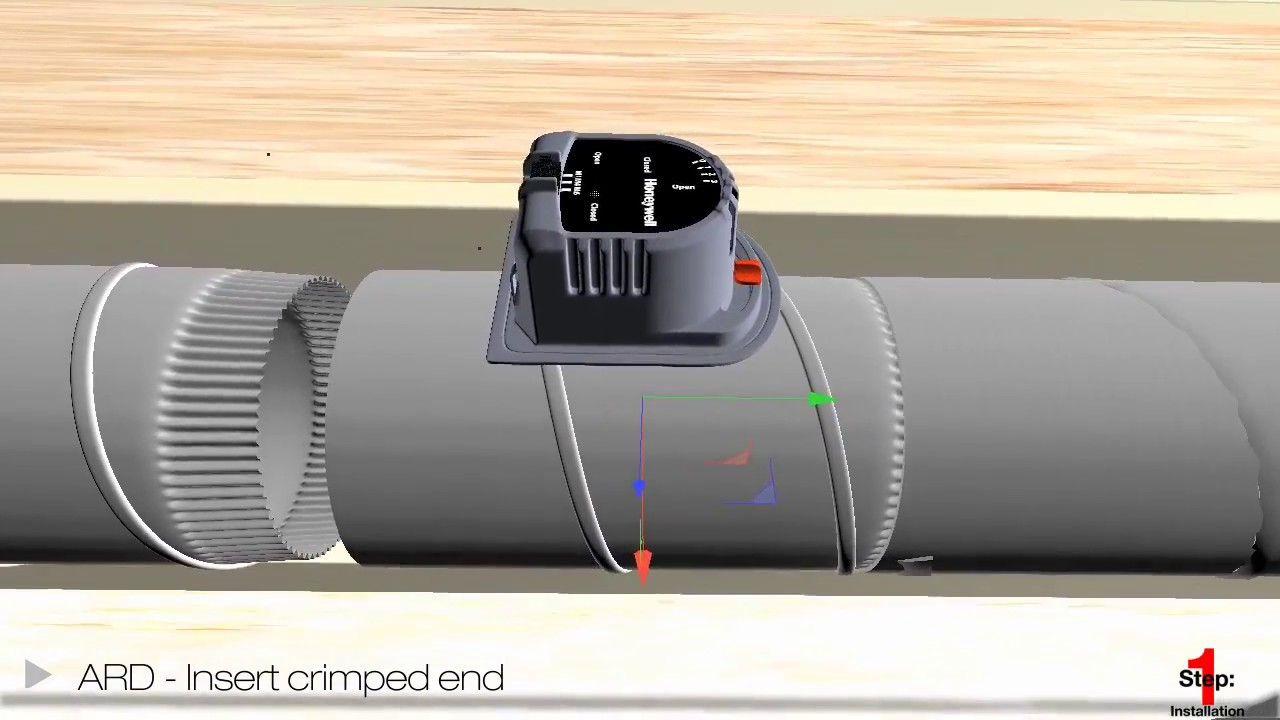 hight resolution of honeywell truezone damper system installation