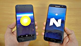 Google Pixel XL Android O vs Samsung Galaxy S7 Edge - Speed Test! (4K)