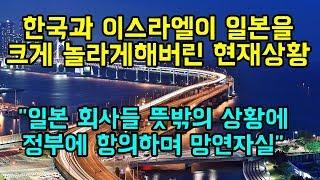 """한국과 이스라엘이 일본을 크게 놀라게 해버린 현재상황 """"일본 회사들은 정부에 거세게 항의하며 망연자실"""""""