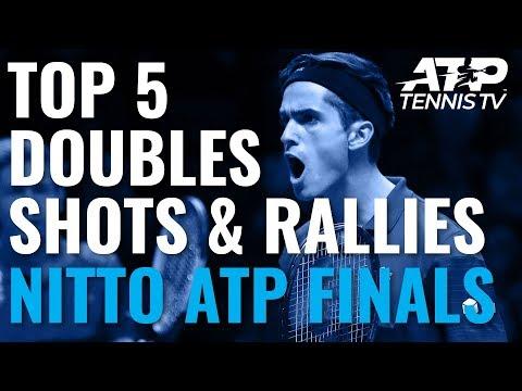 Top 5 Doubles Shots & Rallies | Nitto ATP Finals 2019