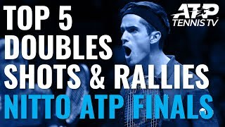 Top 5 Doubles Shots & Rallies | Nitto ATP Finals 2019