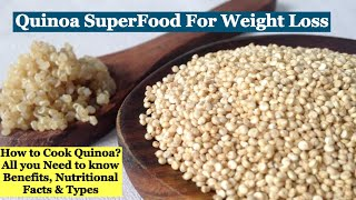 Quinoa has recently gain the status of most popular super food specially for weight loss. studies have indicated that many nutrients present in can gr...