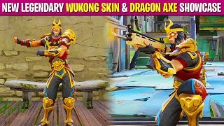 "*NEW* LEGENDARY ""WUKONG SKIN"" & ""DRAGON AXE"" in FORTNITE! (First Person Mode) 