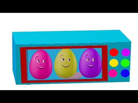 Learn Colors With Suprise Egg For Children || Nursery Rhymes Video For Kids thumbnail