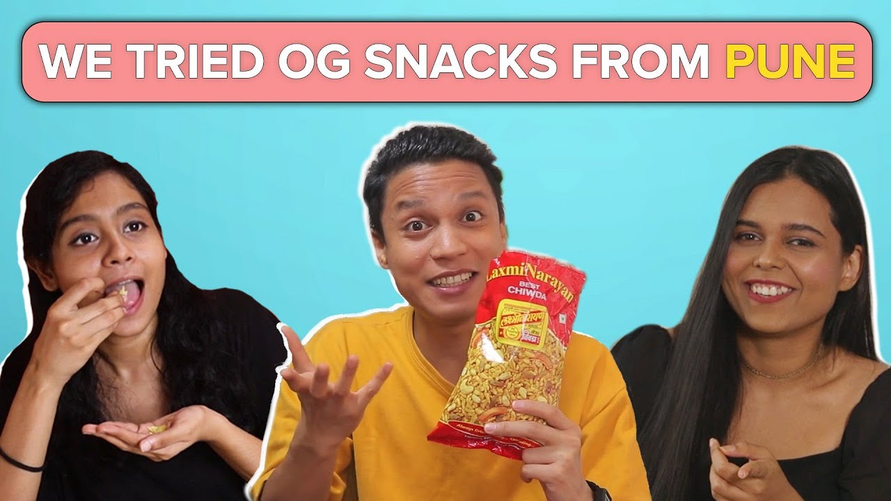 We Tried Snacks From Pune | BuzzFeed India