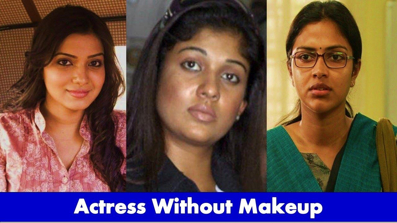top 10 tamil actress without makeup 2018