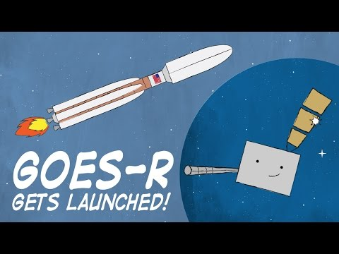 GOES-R Gets Launched!