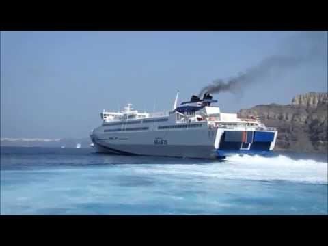 TERA JET Athinios Naxos 22 Sep 2014