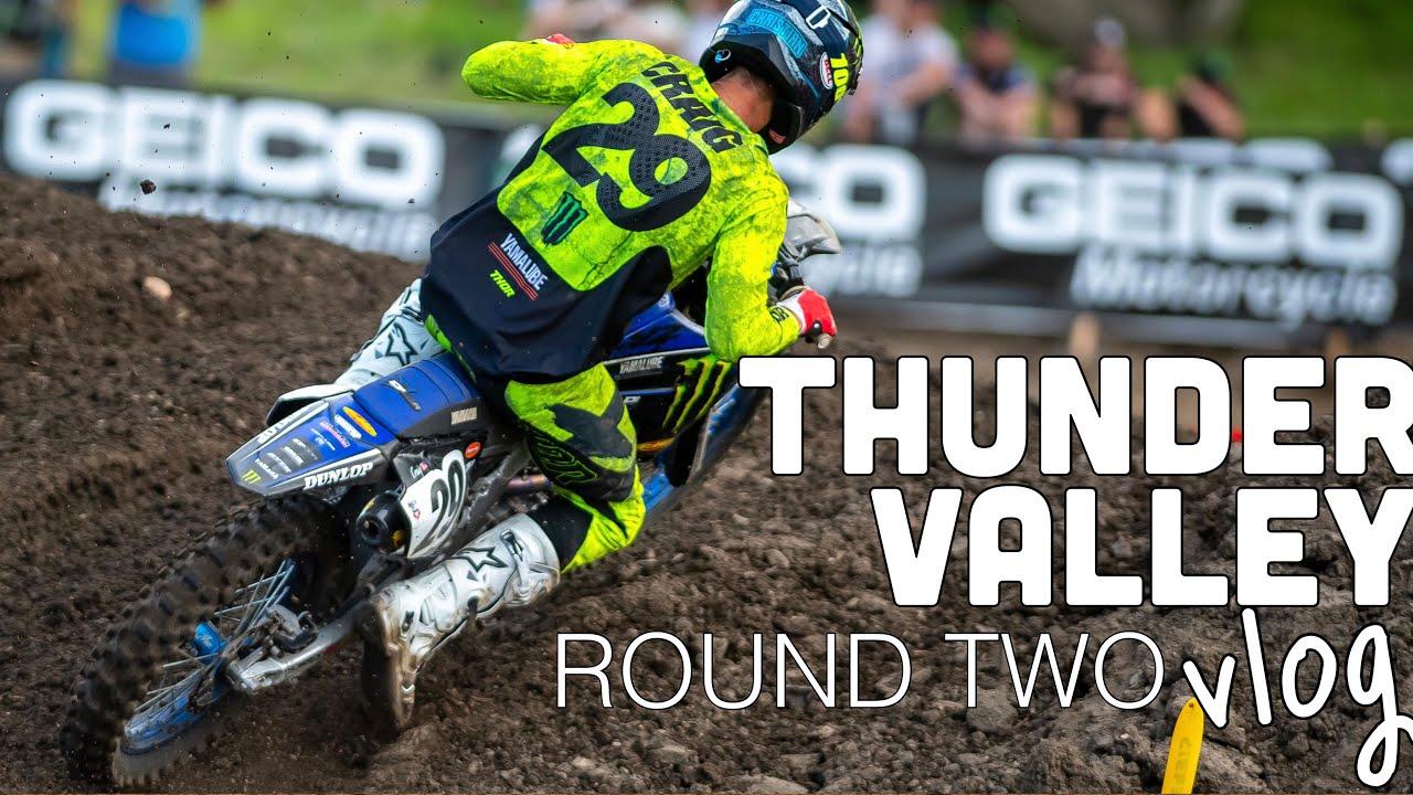 ROUND 2 PRO MOTOCROSS VLOG | Christian Craig Races At Thunder Valley 2021