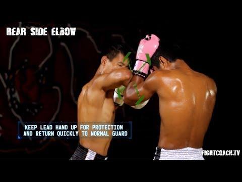 Muay Thai Side Elbow: instructional