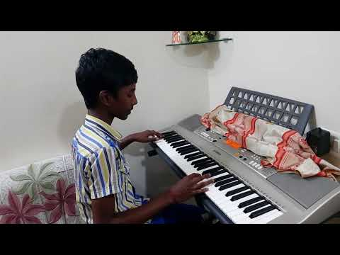 Yaendi Yaendi -  Puli song -  Keyboard by Girish