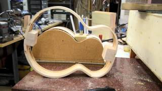 Bending Guitar Sides From My Steambox Luthier Acoustic Building Process