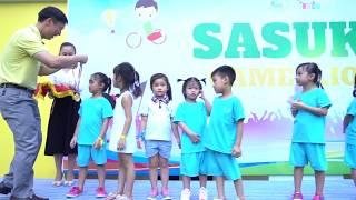 WINTER 1+ 2 (Sasuke Game Show 2018 - Happy Kids Kindergarten)