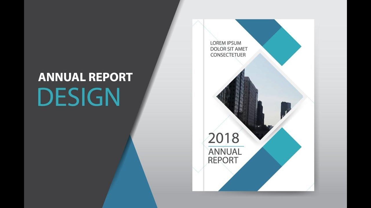 illustrator tutorial   how to design brochure  annual