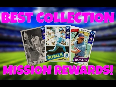 BEST COLLECTION MISSION REWARDS! MLB THE SHOW 17 GUIDE