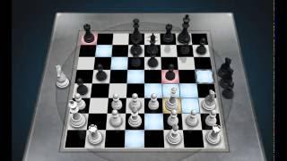 Standard chess game ,Chess Titans - Level 5