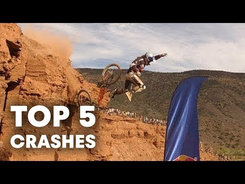 Red Bull Rampage 2012 - les 5 plus gros crashes