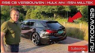 RS4 Milltek | Volle bak met RS6 'en | M4 Hulk | We gaan RS6 C8 verbouwen | 2021 BMW X5M Competition