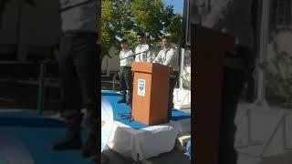 סגן אלוף סמיר כיוף בטכס החלפת ראש מפקדת התיאום והקישור