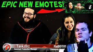 EPIC NEW EMOTES! ||Weekly Assault (Reaction) || World of Tanks: Mercenaries