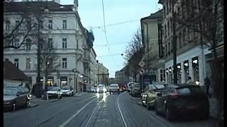 PRAGUE, tram line 20 in driver cab. KOKO verze!