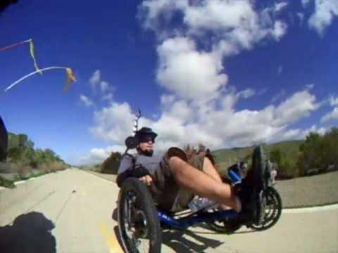 San Juan Capistrano to Oceanside - Recumbent Trike and Bike ride