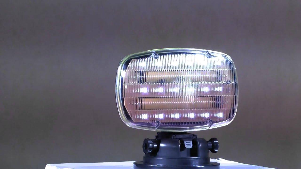 Battery Ed Strobe Light Magnetic Base Iron Blog
