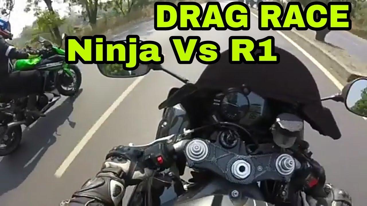 2016 Kawasaki Ninja 1000 Vs 2011 Yamaha Yzf R1 Youtube