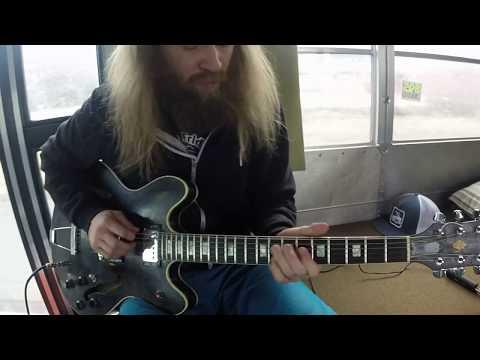 Round Midnight - Jazz Guitar Chord Melody - Scott Pemberton - Bus Time