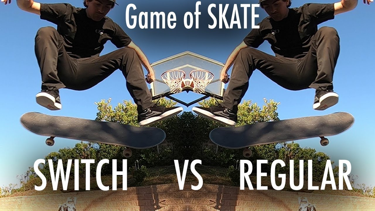 Mikemo VS Mikemo: Switch VS Regular game of SKATE