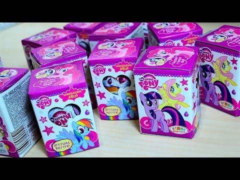 Сюрпризы Май Литл Пони от Конфитрейд Unboxing Surprise My Little Pony