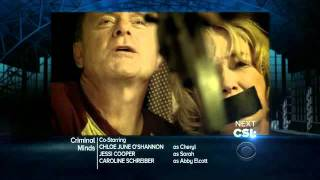 Criminal Minds - Trailer/Promo - 7x03 - Dorado Falls - Wednesday 10/05/11 - On CBS
