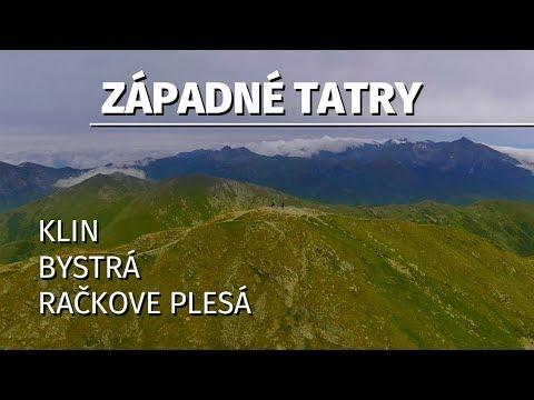 Zapadné Tatry - Račkova dolina / Bystrá / Klin / Račkove plesá / chata J.A. Komenského