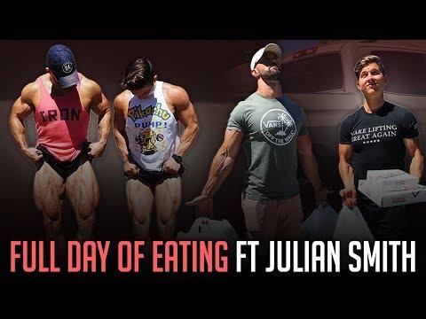 "Full Day of Eating w/ Julian Smith (aka ""The Quad Guy!"")"