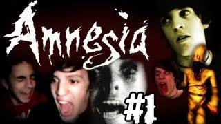 LA PEOR EXPERIENCIA DE MI VIDA :( - Amnesia - Custom Story: HOUSE OF CREEP III [PARTE 1]