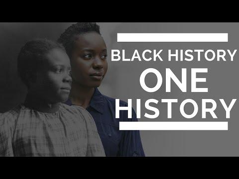 Black History; One History