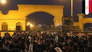 サポーターと治安部隊が衝突、30人死亡か エジプト