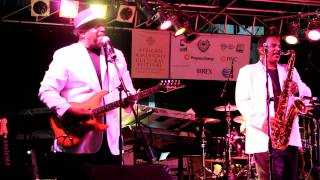 ConFunkShun performing Shake and Dance with Me You live- 2012 African American Cultural Festival