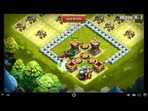 Castle Clash: Level 7 Town Hall HBM With Phinalhour!