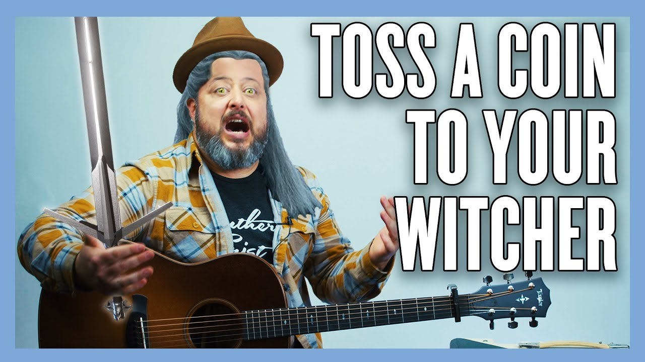 toss a coin to your witcher classical guitar